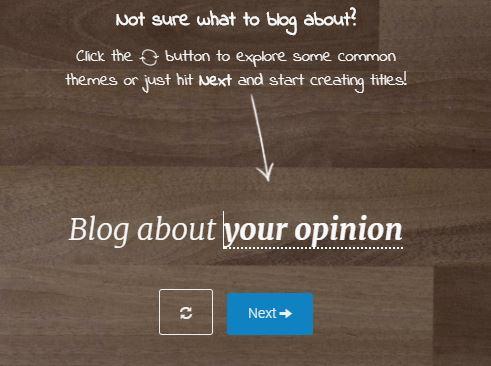 impact blog generator