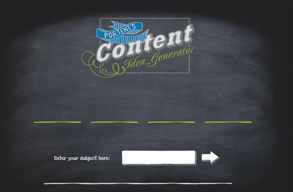 portents content generator