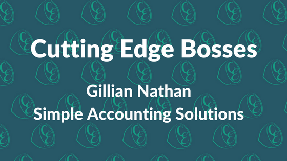 Cutting Edge Bosses - Gillian Nathan