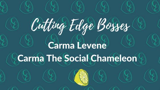 Cutting Edge Bosses - Carma Levene