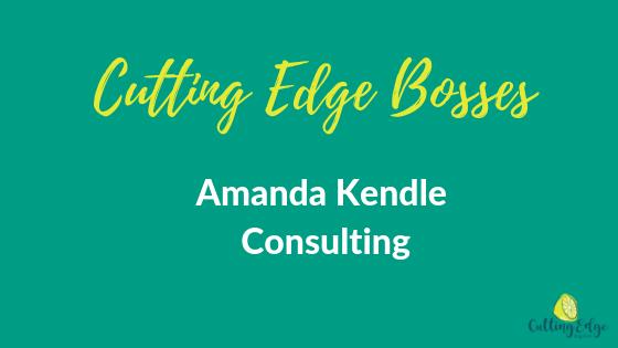 Cutting Edge Bosses Amanda Kendle - Cutting Edge Digital