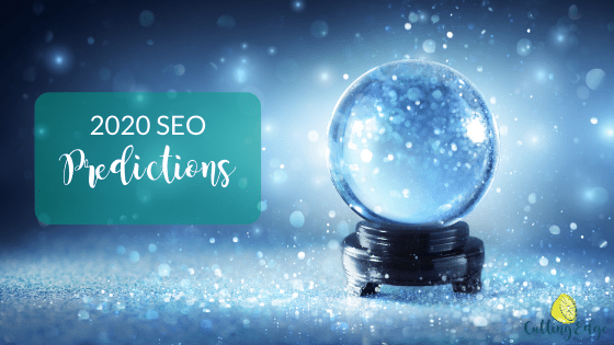 Crysta Ball - SEO Predictions For 2020 - Cutting Edge Digital